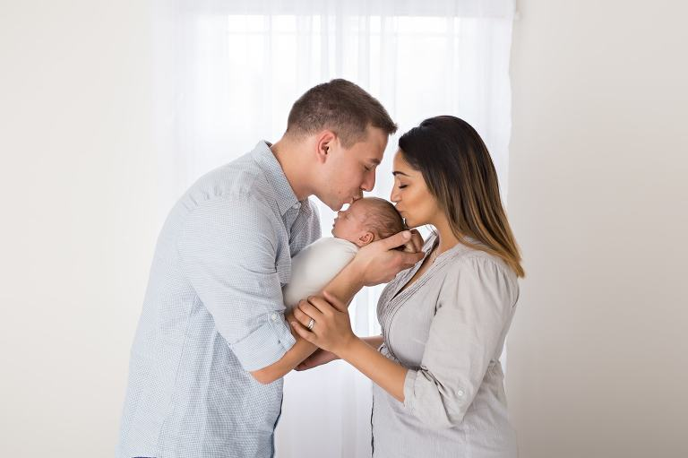 Family Newborn Portraits